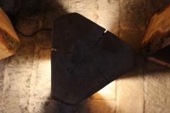 Dreieckslampe von oben